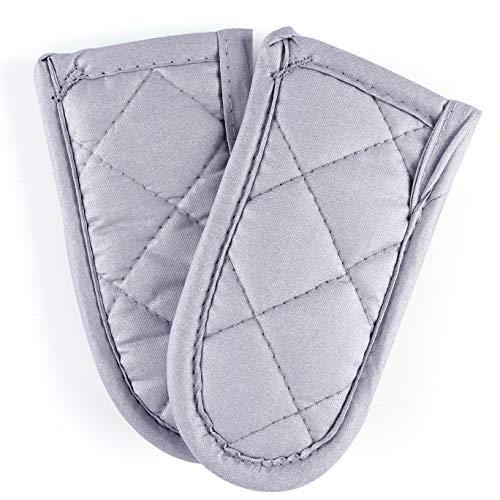 Buzhan Cast Iron Skillet Handle Cover, Sliver Pot Handle Sleeve, Pan Hot Handle Holders
