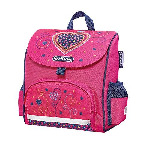 Herlitz 50014088 Mini Soft Bag Pink Hearts, 1 Stück
