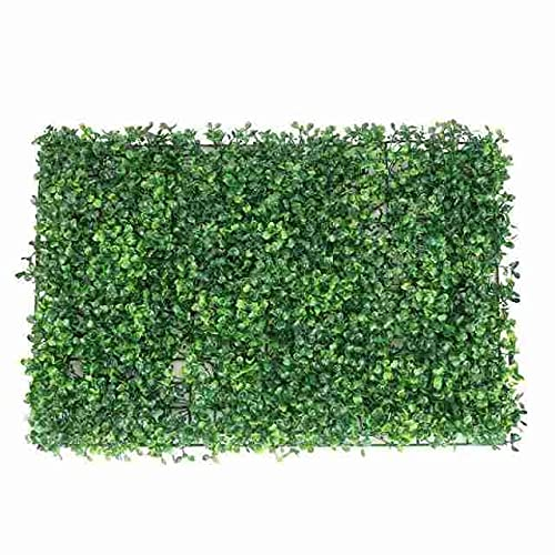 LVLUOKJ Indoor Outdoor Artificial Boxwood Panels,Many Styles Privacy Screen Lawn Backdrop Wall Decor,Easy to install,40 * 60CM