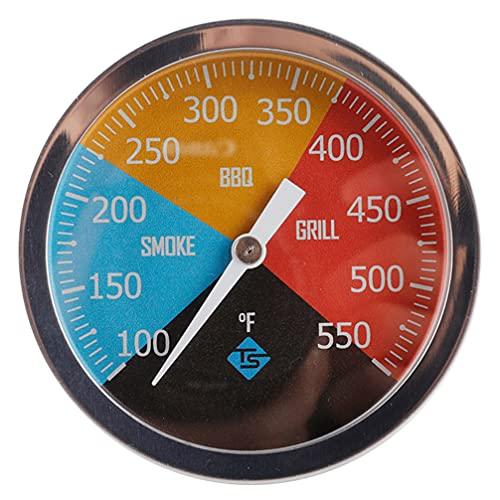 HEMOTON Sonda de Temperatura de Barbacoa de Acero Inoxidable para Horno Eléctrico Y Horno de Gas