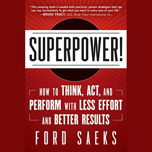 Superpower! audiobook cover art