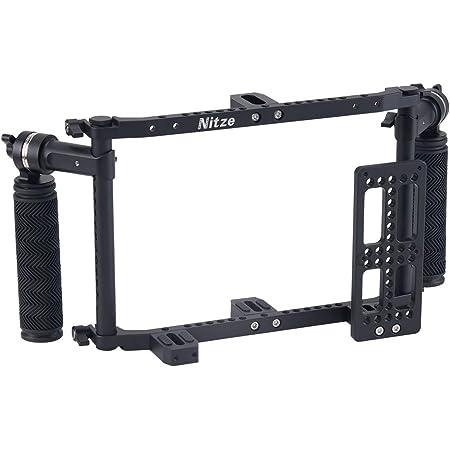 Nitze Monitorkäfig Mit Verstellbaren Griffen Für 7und 9 Kamera