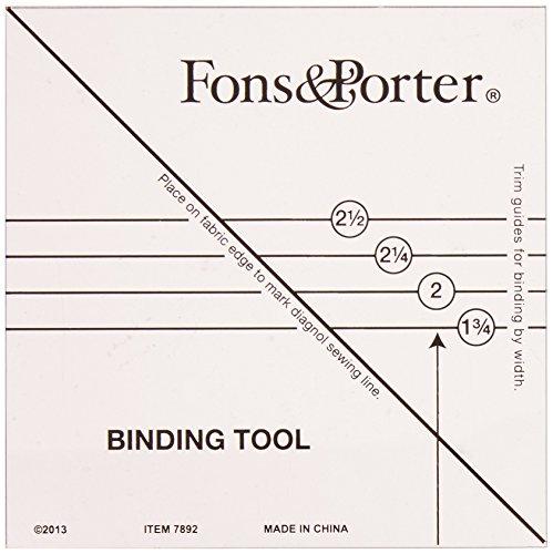 Fons & Porter Binding Tool, Clear