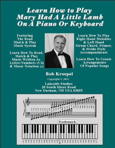 Learn How To Play Mary Had A Little Lamb On A Piano Or Keyboard