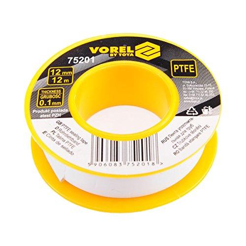 1 Rolle Teflonband Gewindedichtband 12 Meter PTFE 12 mm Dichtband