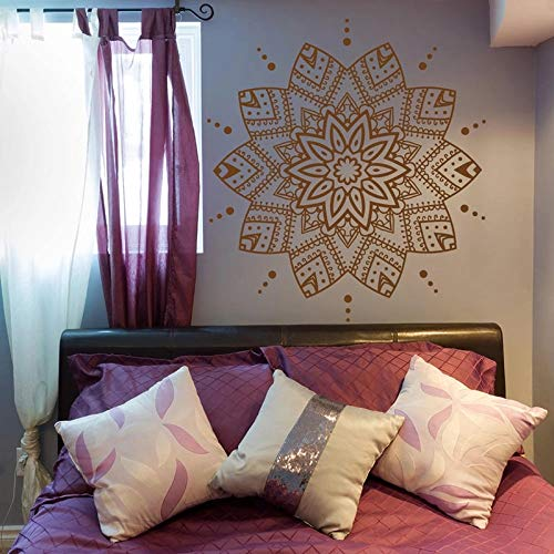 Mandala de pared vinilo Mandala pegatina dormitorio pared Marruecos decoración pared Yoga meditación