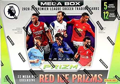 2020/21 Panini Prizm EPL Soccer MEGA box (12 pks/bx)