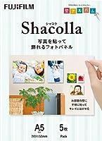 FUJIFILM 写真パネル shacolla(シャコラ) 5枚入 A5 WD KABE-AL A5S 5P