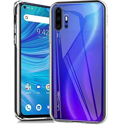 cookaR Crystal Clear UMI Umidigi F2 Hülle, Transparent Silikon TPU Case Ultradünn Soft Cover Handyhülle Schutzhülle für UMI Umidigi F2 Smartphone, Transparent