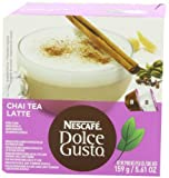 Nescafe Dolce Gusto for Nescafe Dolce Gusto Brewers, Chai Tea Leche, 16 Count (Pack of 3) FlavorName: Chai Tea