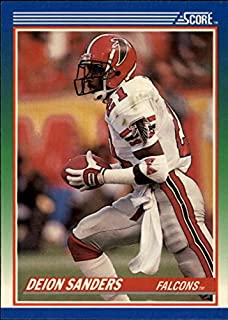 deion sanders rookie football card