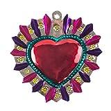 FANMEX - Fantastik - Corazón de hojalata artesanía Mexicana (Oval)