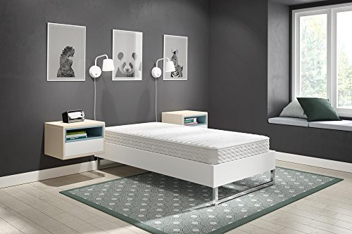 "Signature Sleep Contour 8"" Reversible Encased Coil Mattress, Twin"