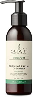 Sukin Signature Foaming Facial Cleanser Pump, 125 ml