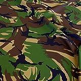 TOLKO Camouflage Stoff aus Baumwolle   Robust, Farbecht und