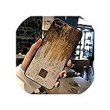 キラキラゴールド大理石ケースfor iphone X XSマックスXR 7ソフトTPU花崗岩ジオメトリカバーfor iphone 7 8 6 6 sプラスカバー電話ケース,for iphone 11 Pro Max,18