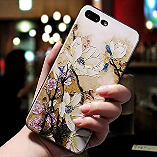 For Huawei Mate 9 Case Creative 3D Relief Simple Flower TPU Soft Anti-fall Protective Back Cover for Huawei Mate 9 (Color ...