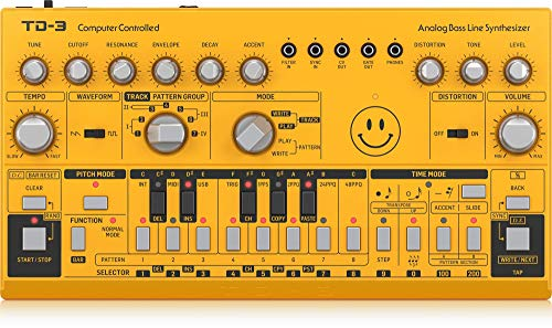 Behringer TD-3-AM, Amarillo (Acid Yellow)