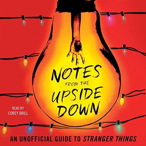 Notes from the Upside Down audiobook cover art