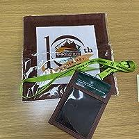阪神甲子園球場 甲子園歴史館10周年記念 ハンドタオル チケットホルダー