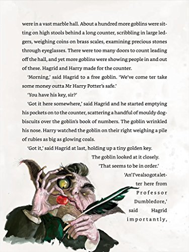Imagem do shoveler em miniatura - 6 para Harry Potter and the Philosopher's Stone: Illustrated [Kindle in Motion] (Illustrated Harry Potter Book 1) (English Edition)
