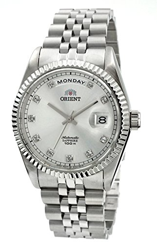 ORIENT 'President' Classic Automatic Sapphire Watch EV0J003W
