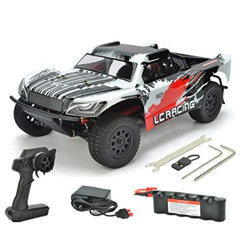 deguojilvxingshe Camión teledirigido LC Racing 1:14 50 + KM/H, 2,4 GHz, 4WD...