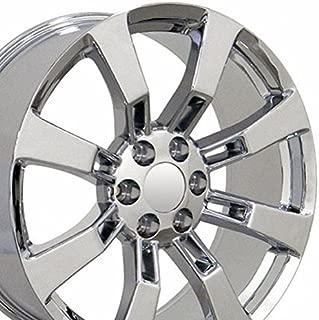 OE Wheels 22 Inch Fits Chevy Silverado Tahoe GMC Sierra Yukon Cadillac Escalade CV82 Chrome 22x9 Rim Hollander 5409