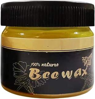 99native Holzgewürz Möbelpflege Bienenwachs zur Reinigung, Wachs Möbelwachs Möbel Regenerator, Auffrischung und Pflege antiker Möbel entfernt Wasserflecken retuschiert leichte Kratzer 85g