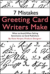 Kate harper blog 7 mistakes greeting card writers make booklet on common mistakes greeting card writers make and what to avoid when submitting greeting card verse to m4hsunfo