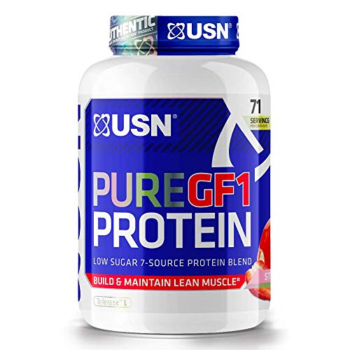 USN Pure Protein GF-1 Protein Shake, Chocolate, 2 Kg