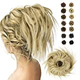 BARSDAR chouchous cheveux chignon postiche chignon bande de cheveux elastiques queue de cheval pour femme