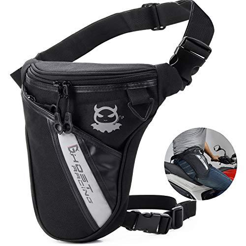 Fansport Drop Leg Bag Outdoor Thigh Bag Motorcycle Bike Bag, Multifunctional Tactical Thigh Packs for Hiking Traveling Fishing Drop Leg Pack Military Waist Leg Bag