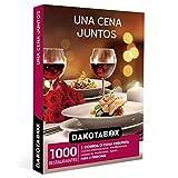 DAKOTABOX - Caja Regalo hombre mujer pareja idea de regalo - Una cena juntos - 1000 restaurantes de cocina moderna, tradicional, de fusión y mucho más