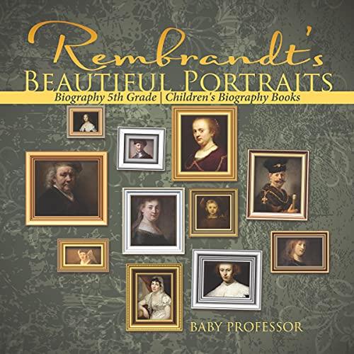 『Rembrandt's Beautiful Portraits』のカバーアート