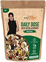 Super Healthy Mixed Nuts Seeds and Berries - Roasted Trail Mix | Premium Trail Snack - Dried Fruits Combo | 20+...