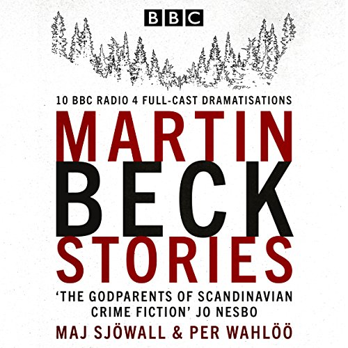 The Martin Beck Stories audiobook cover art