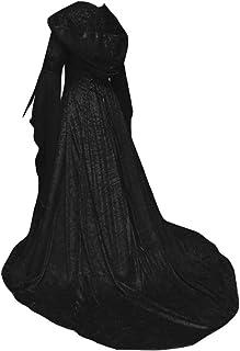 1853f44c29796 Guiran Médiévale Robe Manches Longues Robes À Capuche pour Femmes Parti  Costume Déguisements
