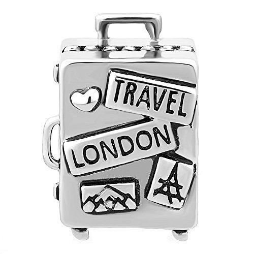 Korliya - Abalorio para pulsera europea, diseño de Londres