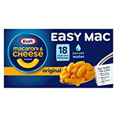 Introducing an exotic range of Macaroni and Cheese Dinner with premium original flavor The all new original flavor macaroni contains 230 calories, 2.5g saturated fat, 540mg sodium and 6g sugar per package The enriched macaroni product consist of thic...