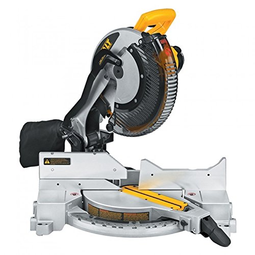 DEWALT DW715 15-Amp 12-Inch Single-Bevel Compound Miter Saw (Discontinued)