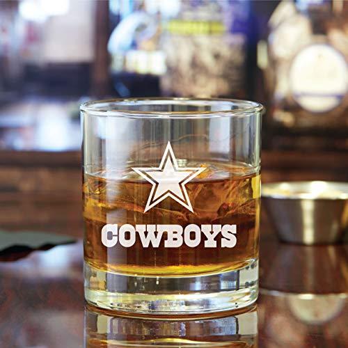 Engraved Cowboys - Rocks Glass
