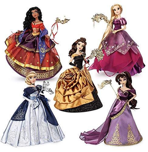 Midnight Masquerade Series Disney Designer Collection Limited Edition Doll Set - All 5 Dolls