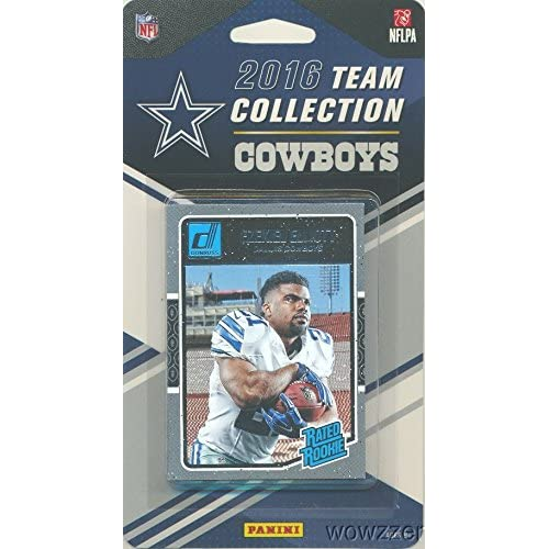 e40aab3cdf7 Dallas Cowboys 2016 Donruss NFL Football Factory Sealed Limited Edition 15 Card  Complete Team Set with