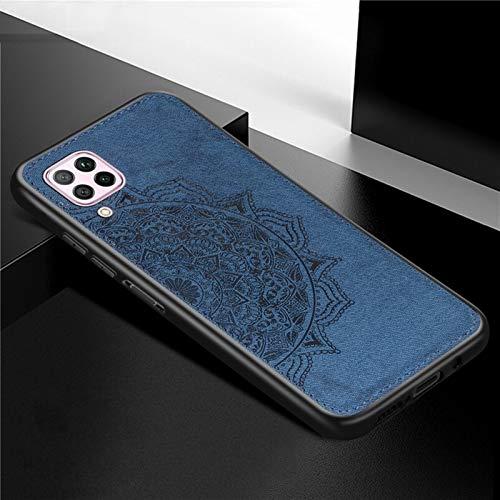 HHF Teléfono móvil Accesorios para Huawei Nova 6 SE, Teléfono Funda Dura SHCOK APROXISTRADA Soft TPU Tabla DE LA Tela DE LA Tabla para Huawei Nova 6 SE JNY-AL10 JNY-TL10 6.4 Pulgada