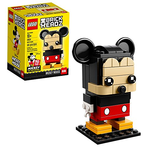 Lego 6225330 Brickheadz Mickey Mouse 41624 Building Kit (109...