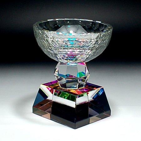 優勝カップ(大)クリスタルトロフィーCR-6A