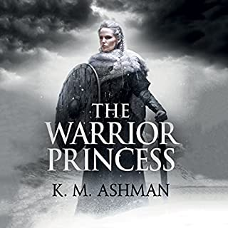 The Warrior Princess audiobook cover art