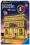 Ravensburger - Puzzle 3D - Building - Arc de Triomphe illumin - 12522