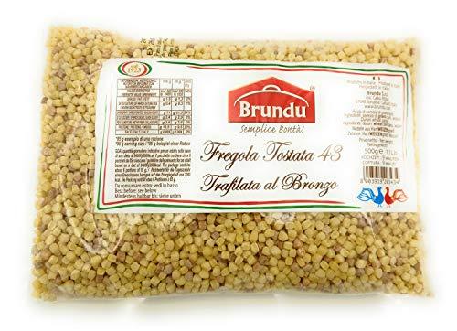 Brundu | Fregola Tostata geröstete Kugelpasta 500 g